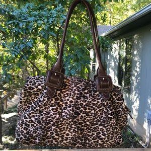 Liz Claiborne cheetah print purse